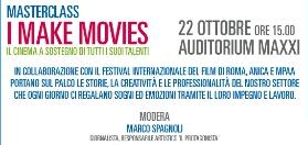 [133314] FESTIVAL DI ROMA 9 - I make movies, il cinema sostiene i talenti | Film Update