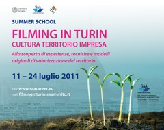 """""""Filming in Turin"""", un modo diverso di passare l'estate"""