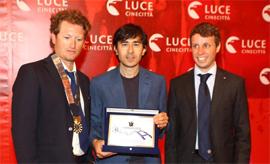 """Il Premio """"Tulipani di Seta Nera: Un Sorriso Diverso Venezia 2012"""" va a Luigi Lo Cascio"""