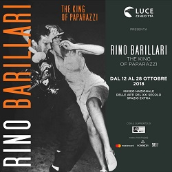 RINO BARILLARI - THE KING OF PAPARAZZI - Inaugurata la mostra a Roma