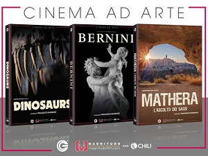 CINEMA AD ARTE - In home video i doc della Magnitudo