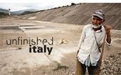 "locandina di ""Unfinished Italy"""