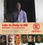 "locandina di ""Life in Italy is Ok - Emergency Programma Italia"""