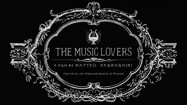 "locandina di ""The Music Lovers"""
