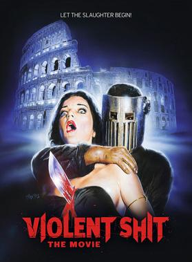 "locandina di ""Violent Shit - The Movie"""