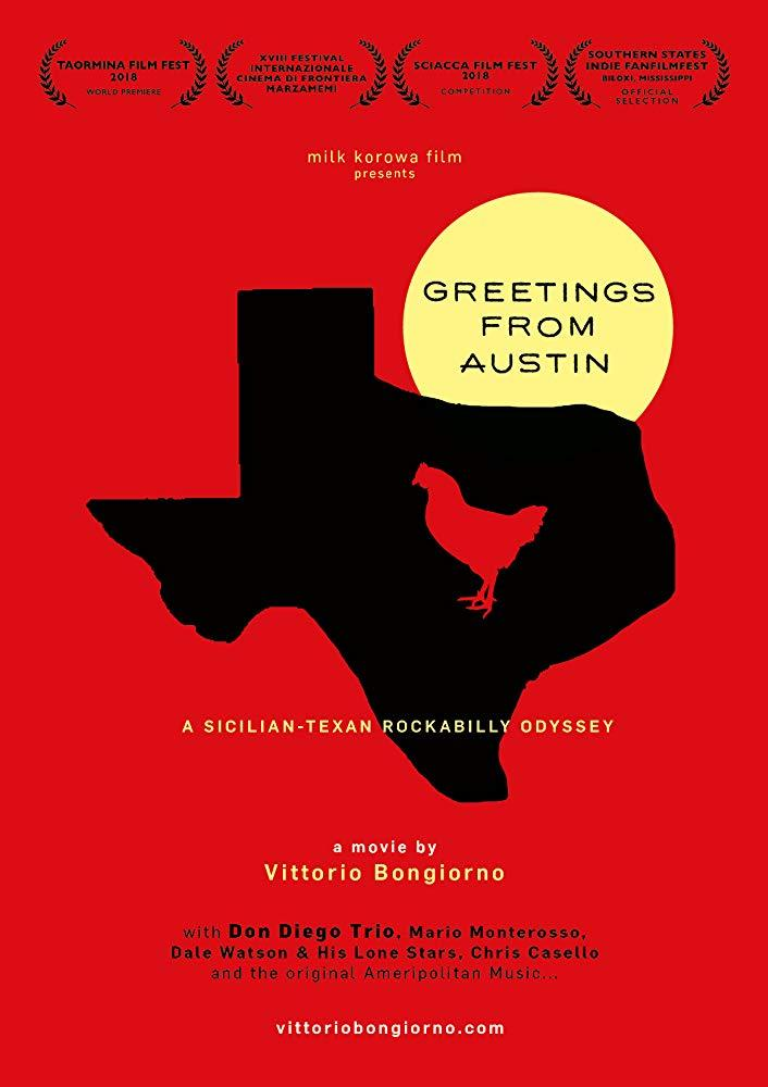 "locandina di ""Greetings from Austin"""